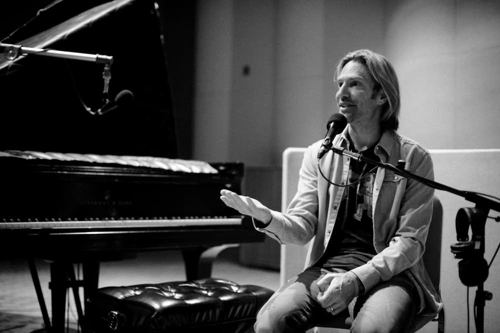 eric whitacre in studio