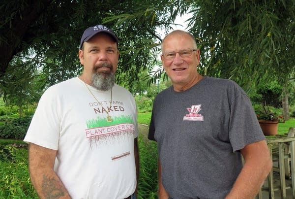 Lance Nacio, left, and Randy Skinner.