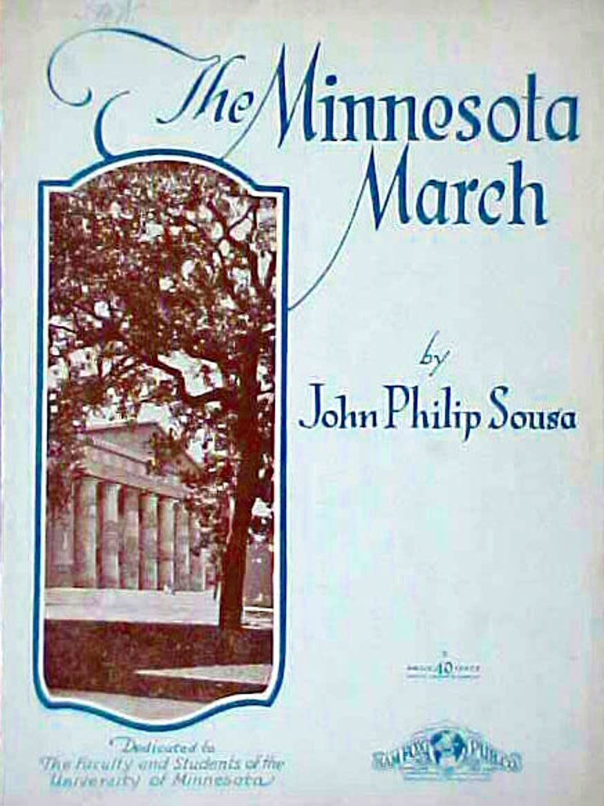 """The Minnesota March,"" by John Philip Sousa"