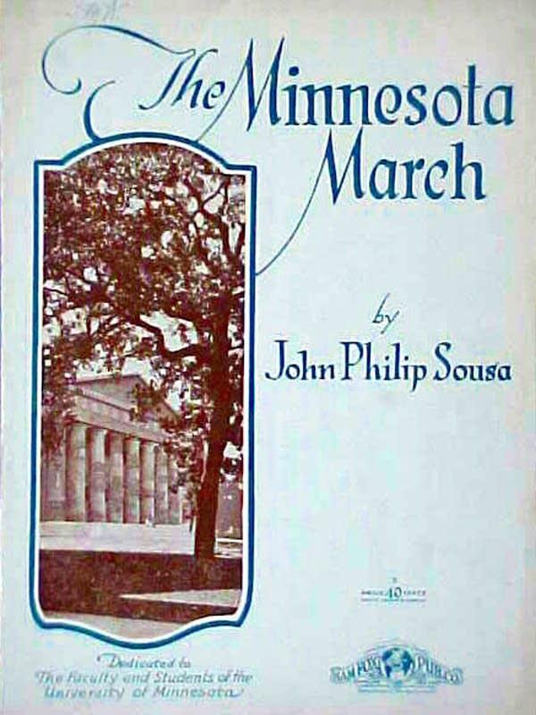 """The Minnesota March,"" by John Philip Sousa"