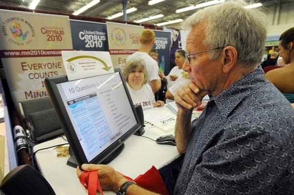 U.S. Census at the Minnesota State Fair