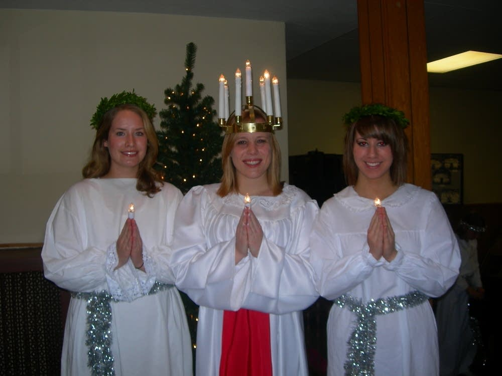 Lucia and Attendants