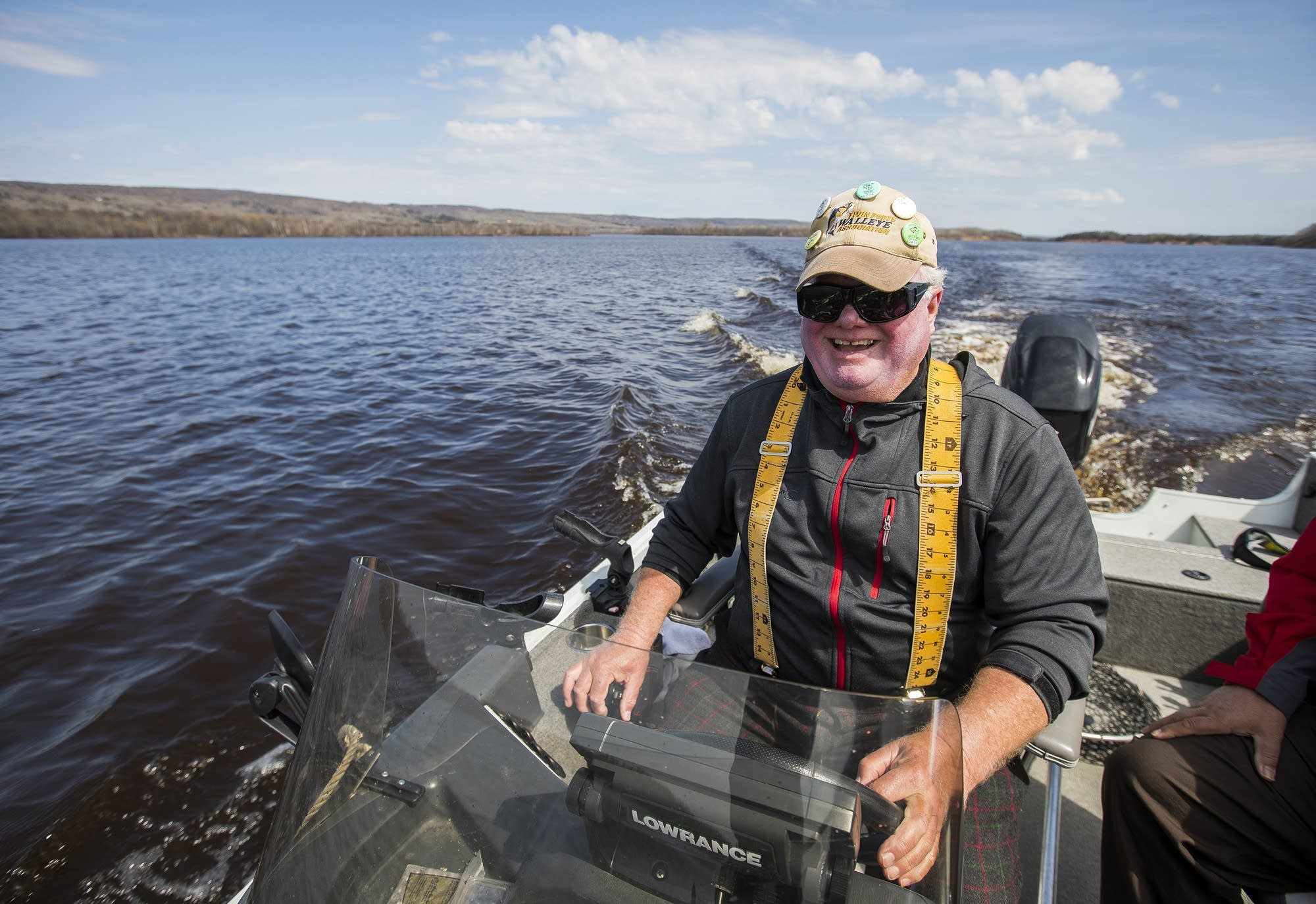 Fisherman Rob Maas spends over 200 days a year on the St. Louis River.