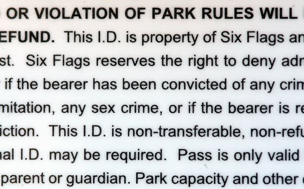 Six Flags policy to target sex offenders