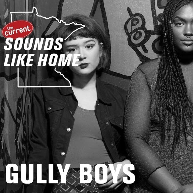 Digital flyer for Gully Boys' Sounds Like Home performance.