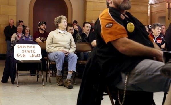 Watching gun control hearings