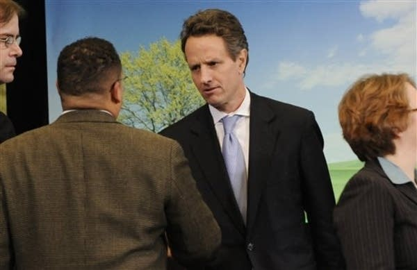 Geithner in Minnesota