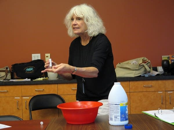 Bette Packer talked about chlorine use around food