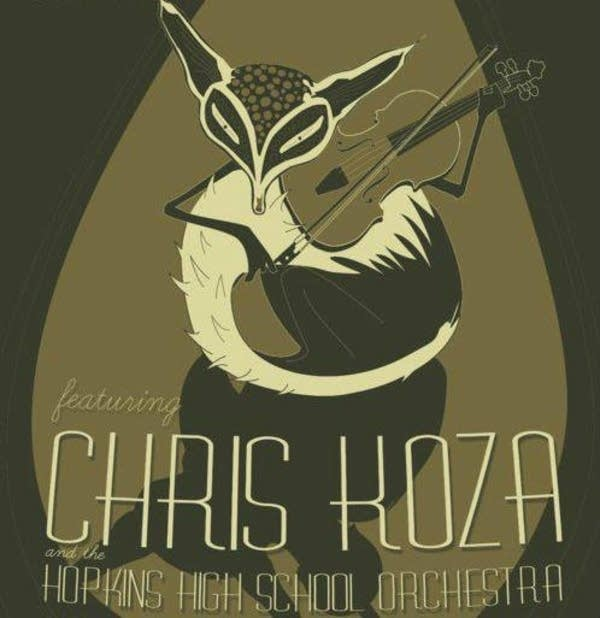 Chris Koza concert poster hopkins