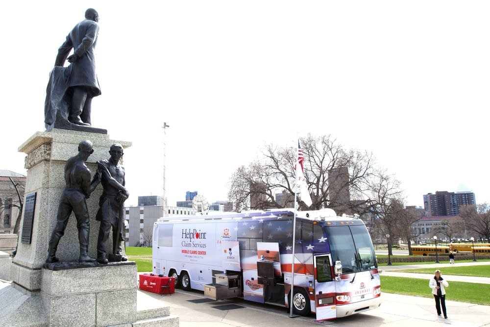 The Farmers Insurance Mobile Command Center