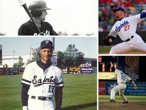 Players who made it to the major league from the Saints