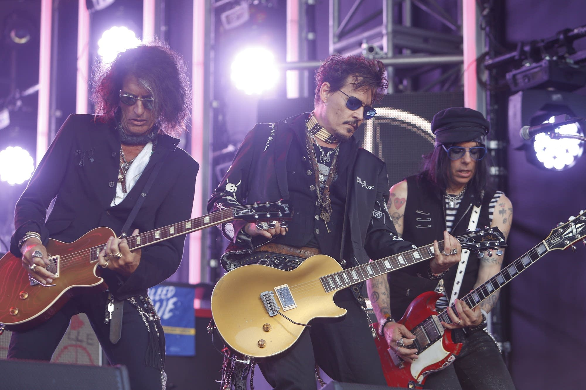 Hollywood Vampires on 'Jimmy Kimmel Live!'