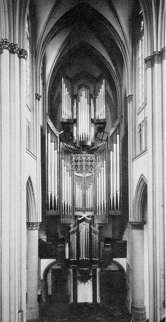 1980 Klais organ at Altenberg Cathedral
