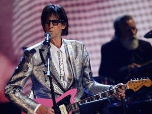 Ric Ocasek at Rock and Roll Hall of Fame induction