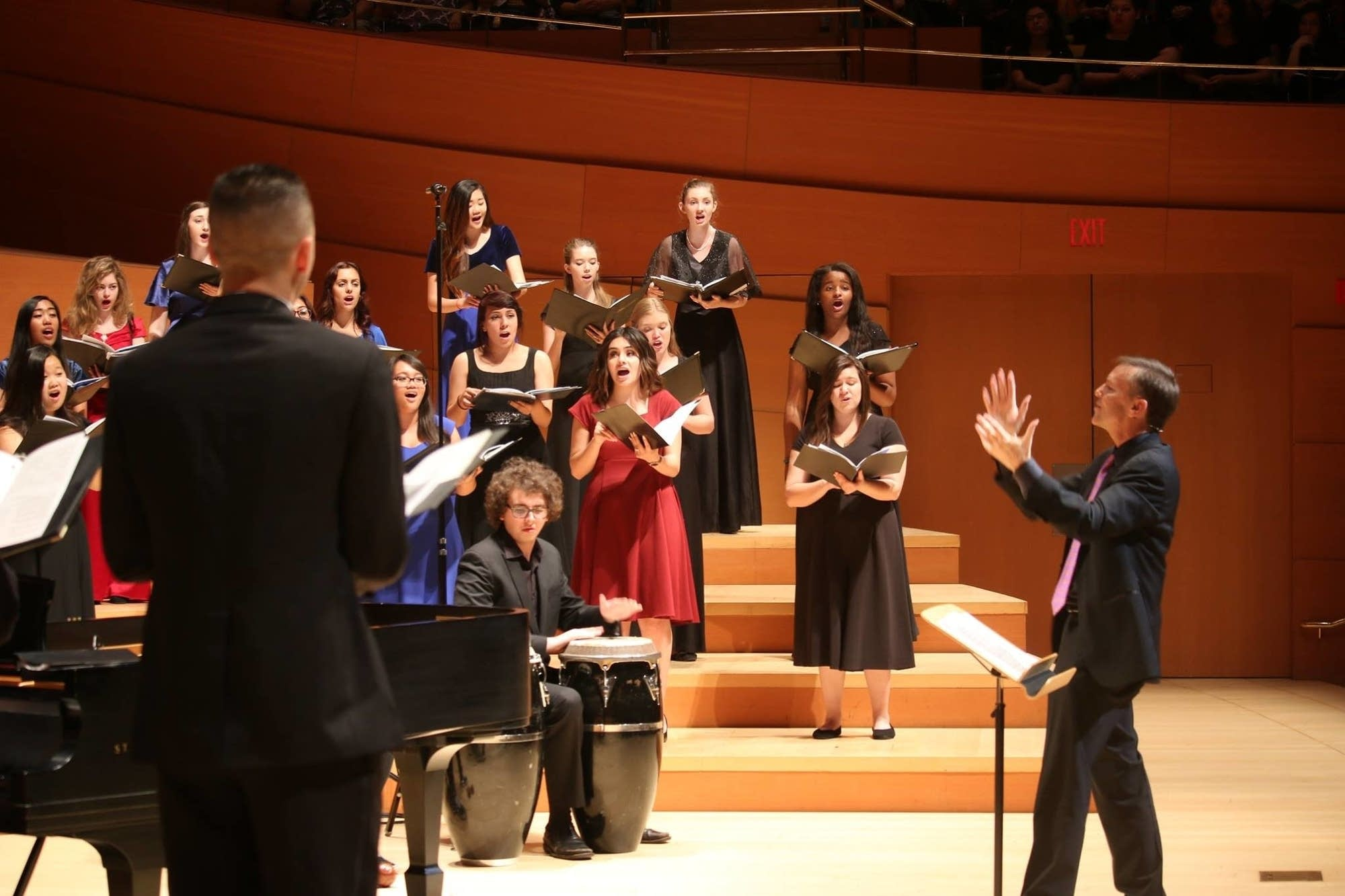 Grant Gershon & the LA Master Chorale Honor Choir