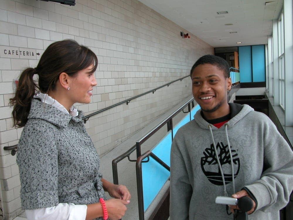 Porter's former teacher Sarah Young