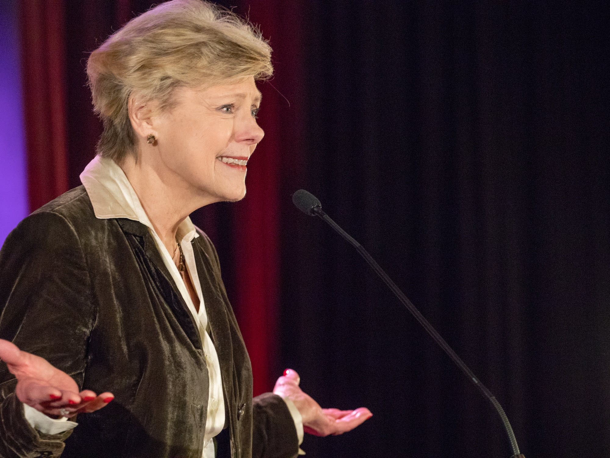 Cokie Roberts, journalist and political commentator for ABC News and NPR