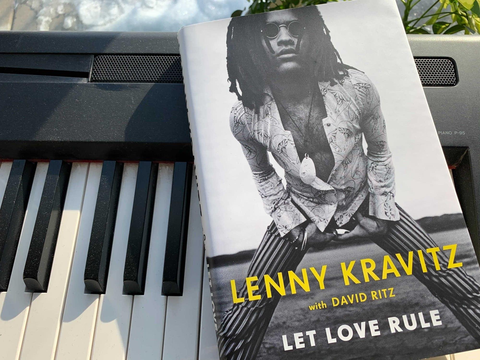 Lenny Kravitz's book 'Let Love Rule.'