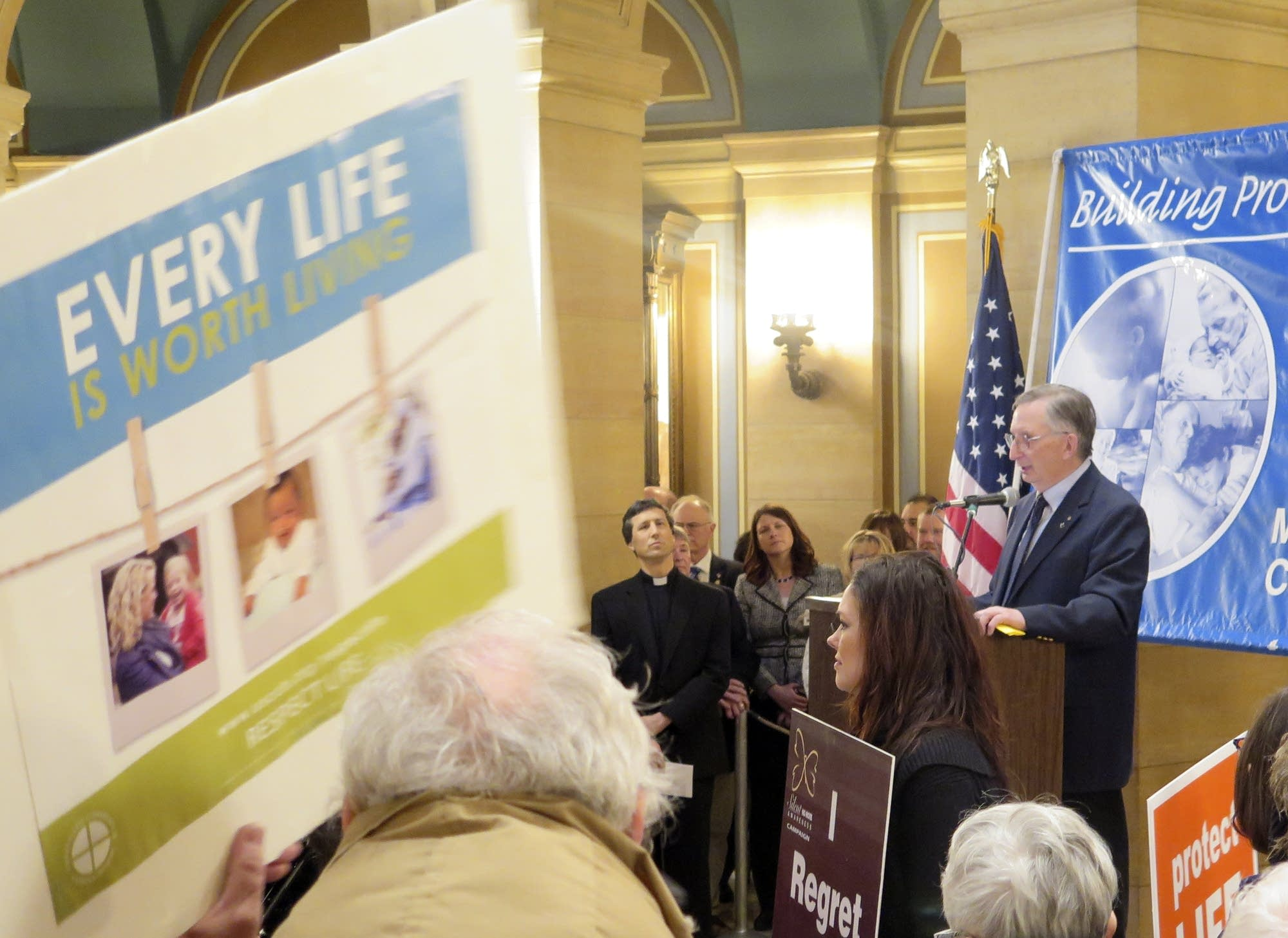 Rally against abortion draws 5000 to state Capitol