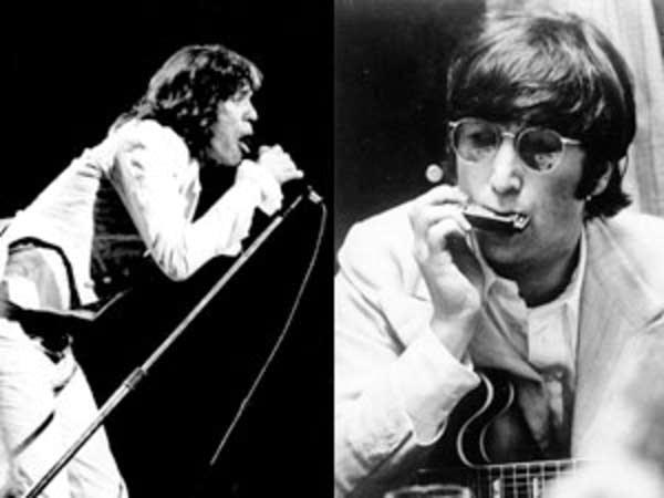 Mick Jagger, John Lennon