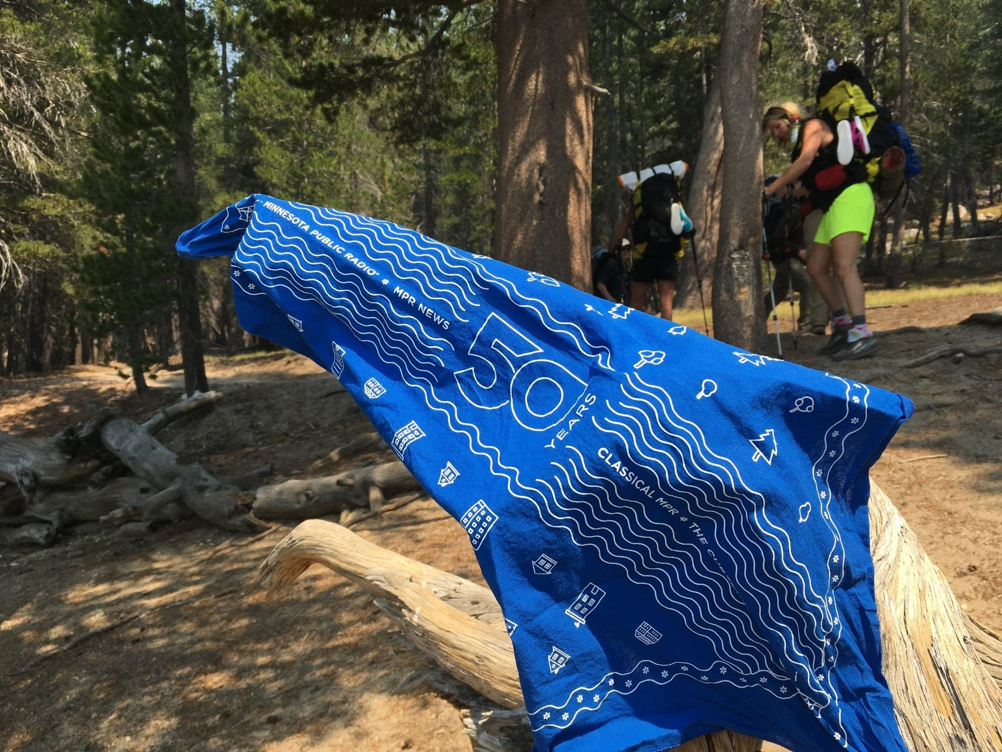 MPR50 Bandana on the PCT