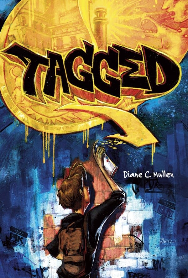 """The book cover for """"Tagged"""""""
