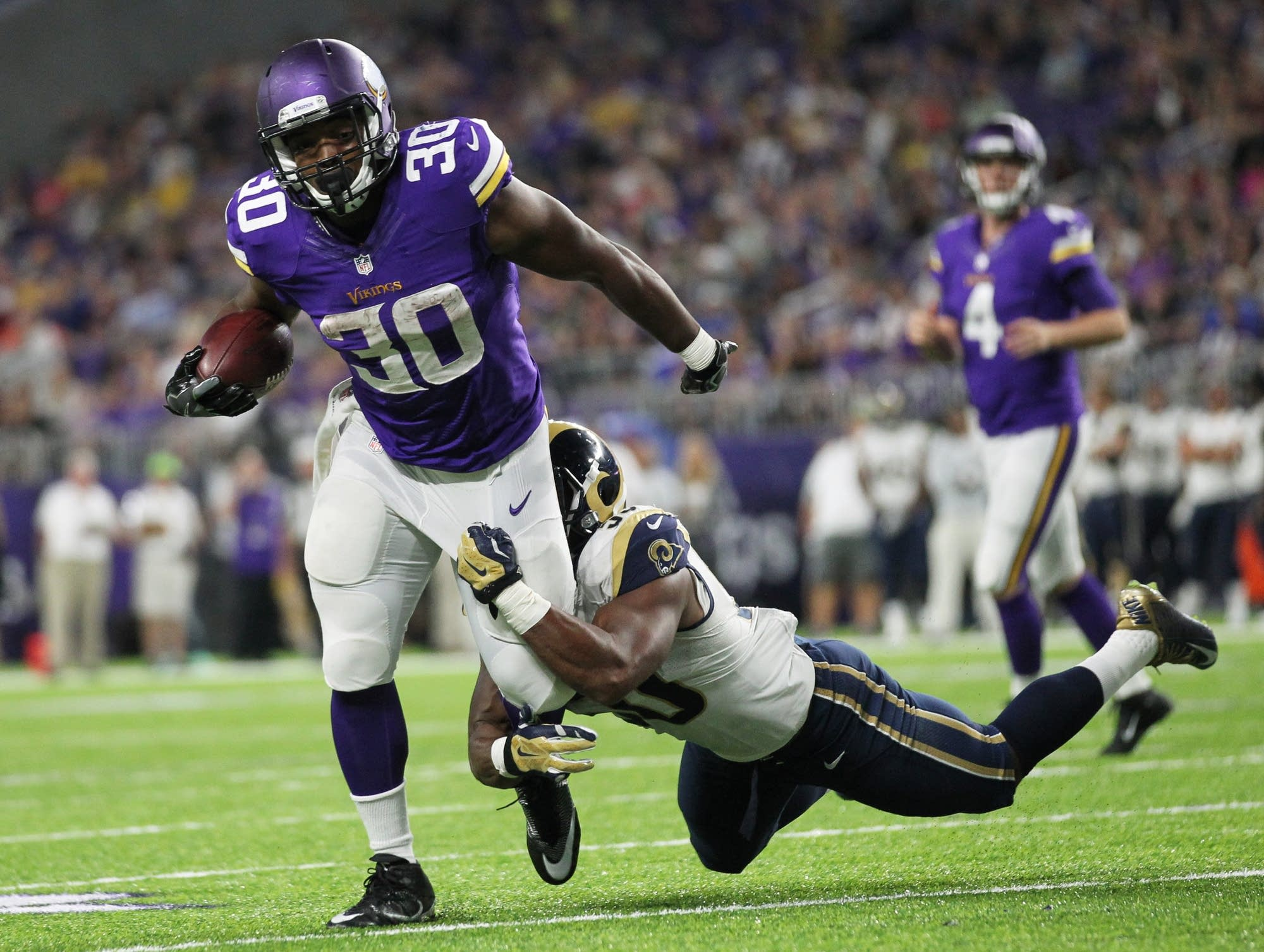 Minnesota Vikings running back C.J. Ham