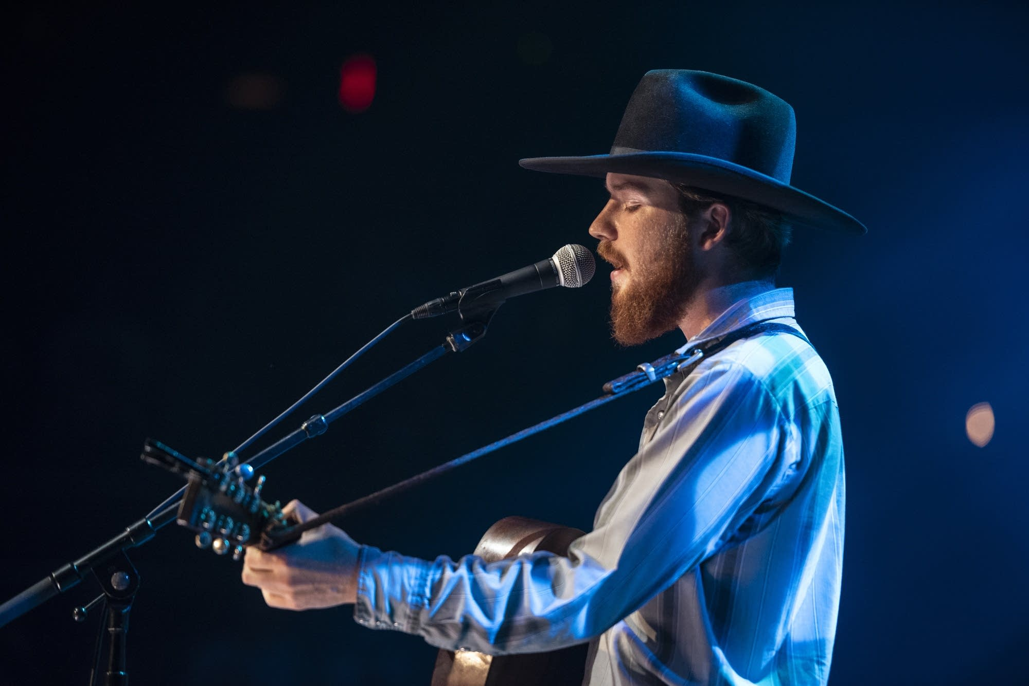 Colter Wall performing on 'Austin City Limits' on PBS.