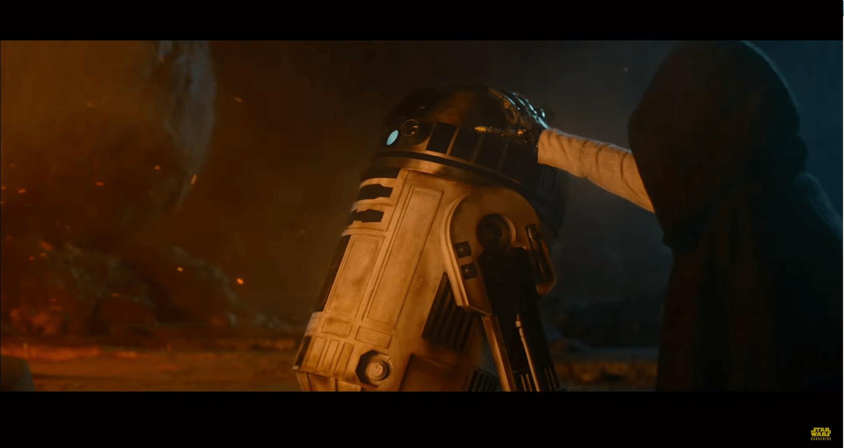 Still from Star Wars: The Force Awakens Trailer