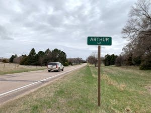 The small town of Arthur, Neb.