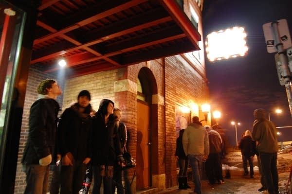 Outside the Triple Rock Social Club