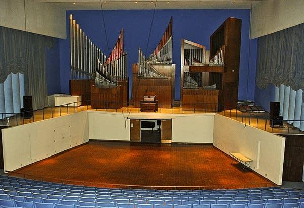 1964 Holtkamp organ at Hemmle Recital Hall, Texas Tech University,...
