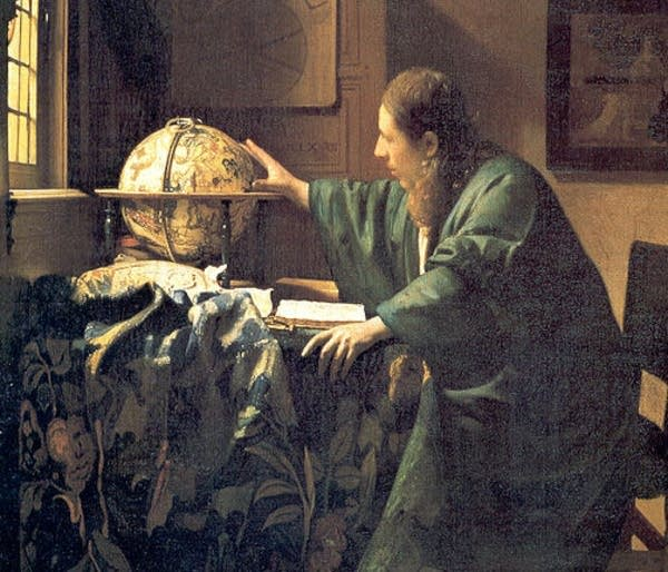 Vermeer's 'The Astronomer'