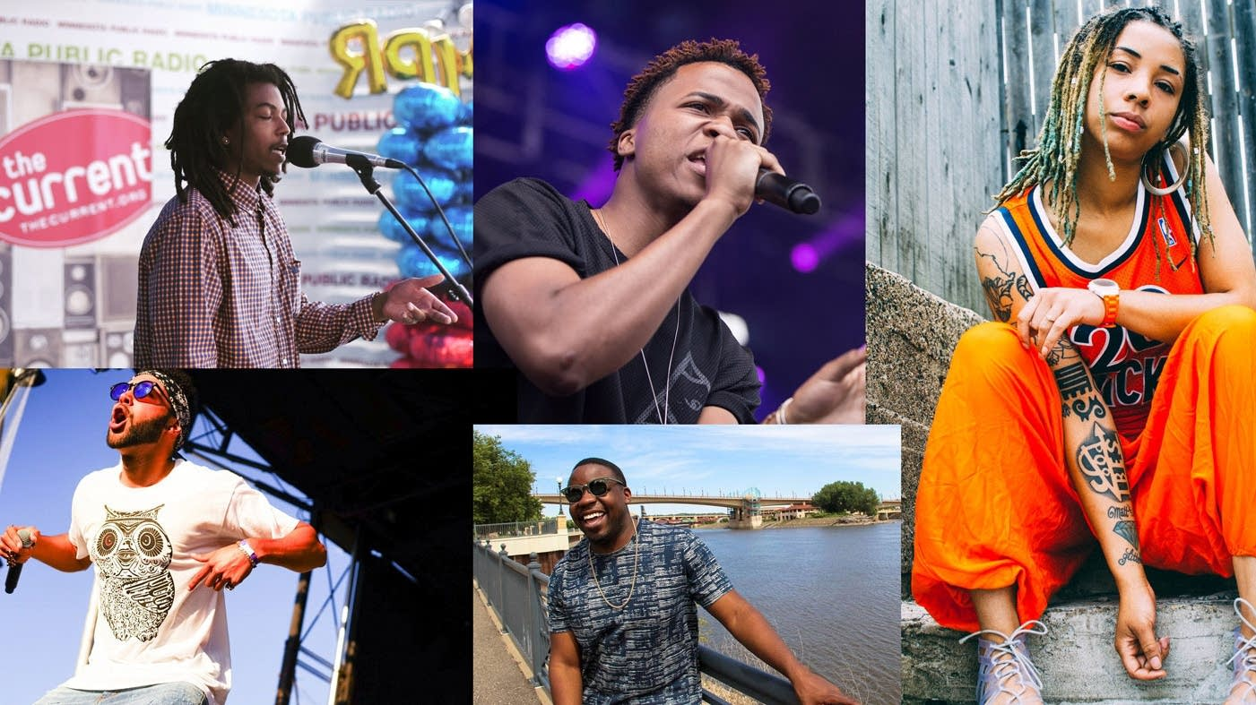 Twin Cities rappers on the rise