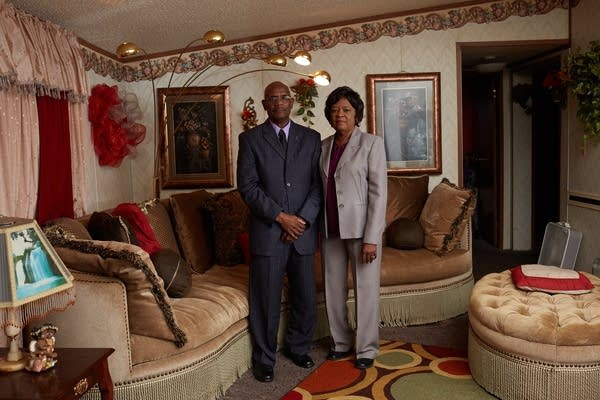 Lola and Archie Flowers, the parents of Curtis Flowers.