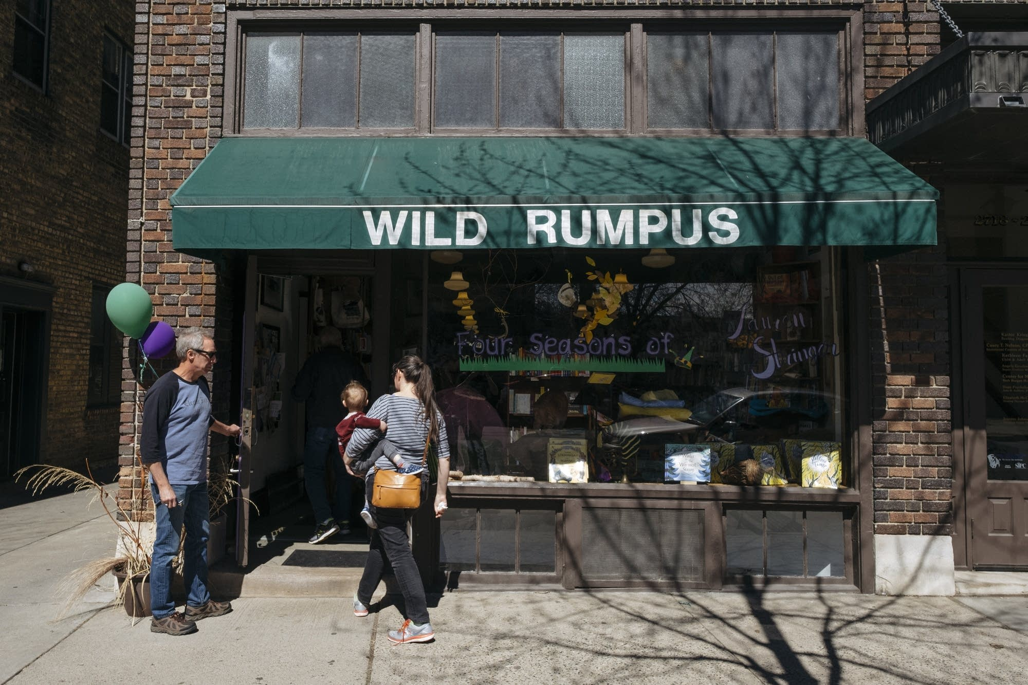Outside of Wild Rumpus.