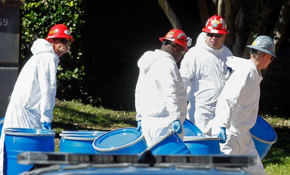 Hazmat workers