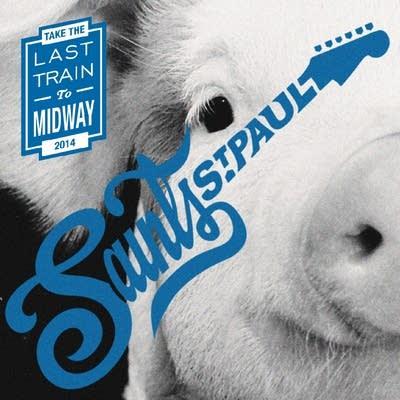 8d674f 20140811 saint paul saints vinyl cover last train to midway