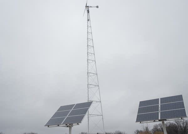 Two of WH Solar's oldest solar arrays