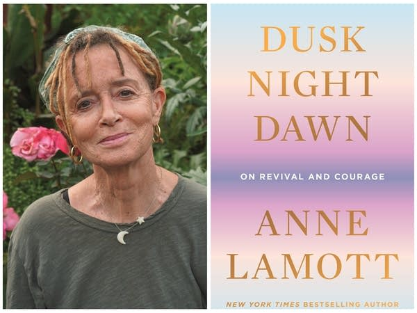 A book cover and a picture of the author.