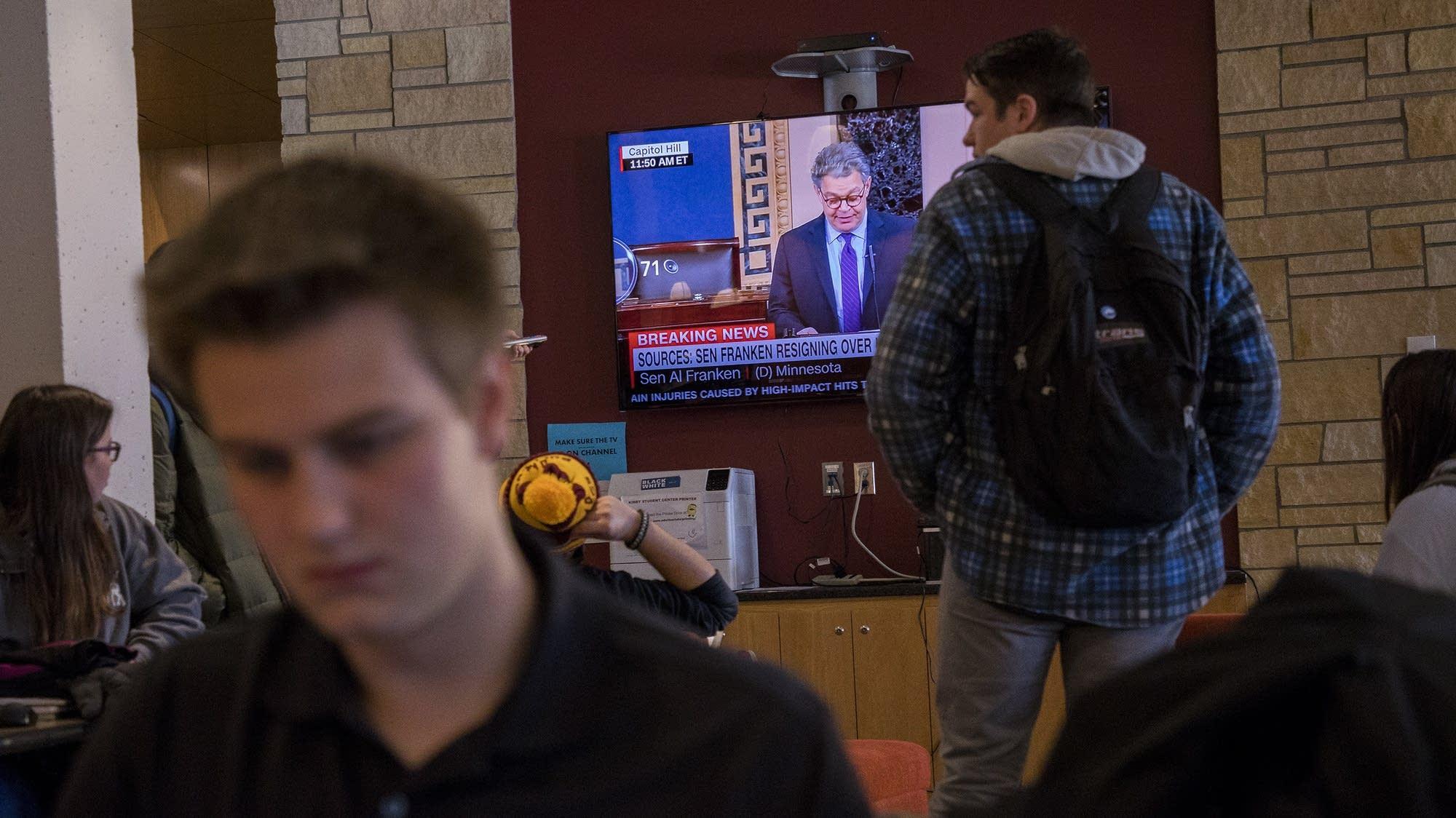University of Minnesota Duluth students