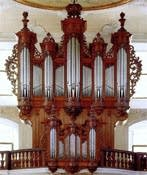 1761 J.A. Silbermann organ at Arlesheim Cathedral, Switzerland