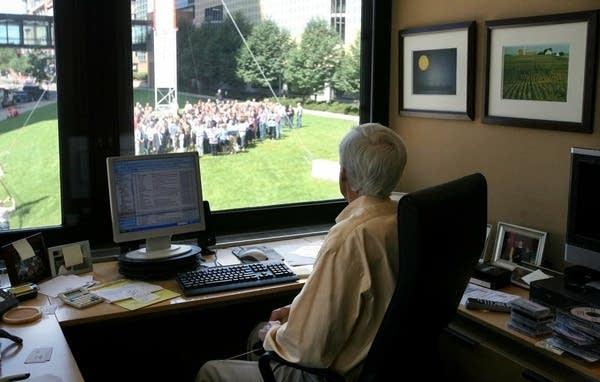 MPR staff say farewell to Bill Kling, June 28, 2011