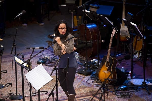 Comedian and actor Janeane Garofalo
