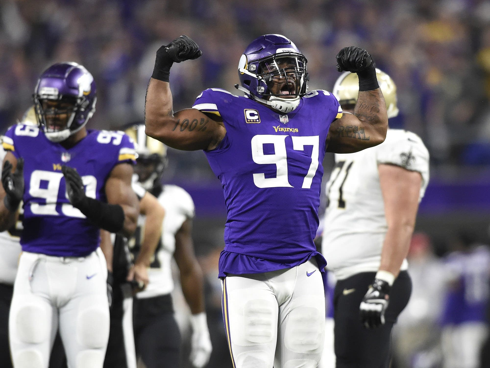 Mental Health Struggles Surface For Vikings Everson Griffen Mpr News