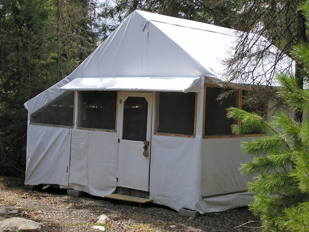 Temporary cabin