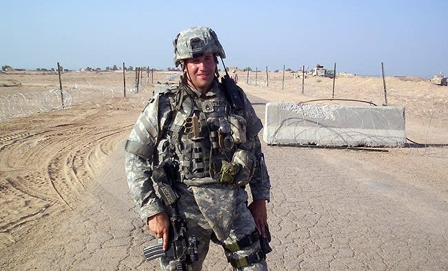 Anderson in Iraq