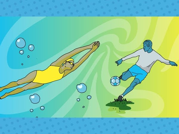 Smash Boom Best: Swimming vs. Soccer