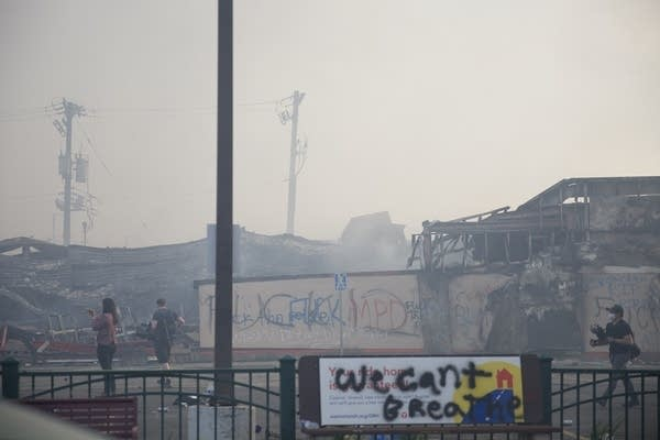 Building destroyed