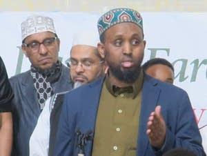 Dar Al Farooq Executive Director Mohammed Omar speaks